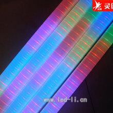 湖北黄石LED护栏灯形状美观选用灵创图片