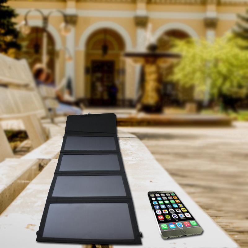 热销款太阳能充电器sunpower板20W太阳能折叠包厂家直销