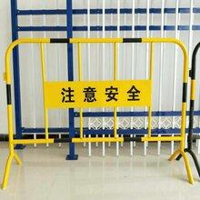 供应银川卖工地建筑铁马临时施工护栏喷漆铁马护栏厂图片