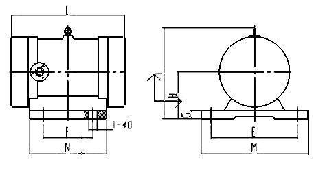 供应YZD振动电机三相380V50HZ异步电动机