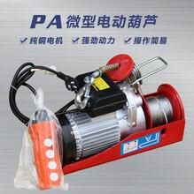 PA微型电动葫芦多种型号可批发电动葫芦pa400微型电动葫芦