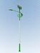 福瑞光电天津5米20瓦太阳能路灯