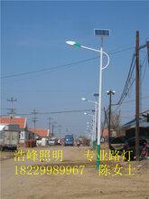 湖南永州6米太阳能路灯蓝山县新农村太阳能路灯价格