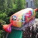 糖果节展览展示气模道具充气仿真糖果派对主题装饰商业街美陈