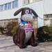 充气小狗气模仿真动物斑点狗模型儿童节商场中庭装饰广告促销气模