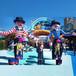 新款充气行走长腿西班牙招手小丑广告宣传跳舞人开业庆典气模