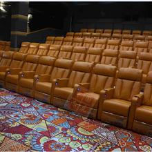 影院沙发座椅电动USB接口功能伸展沙发太空舱真皮沙发影视厅沙发厂家直销图片