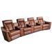 現代家庭影院沙發電動伸展USB頭等艙影院組合沙發椅工廠