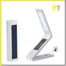 新款创意折叠太阳能充电LED护眼学习礼品台灯家居卧室床头小台灯图片
