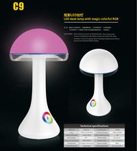 创意新款七彩氛围LED礼品台灯欧式家居护眼学习蘑菇LED台灯图片