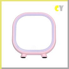 新款创意LED蓝牙音响化妆镜礼品台灯卧室家居便携式充电台灯图片