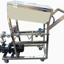 移动式液体定量灌装大桶设备图片