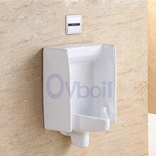 蒙娜丽莎陶瓷小便斗公共厕所男士挂便器尿槽墙排式小便器承接酒店图片