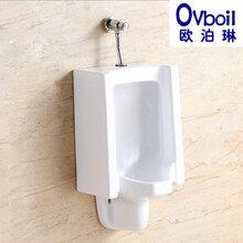 欧泊琳潮州厂家直销陶瓷小便器公共厕所挂便器防臭静音小便斗尿槽图片