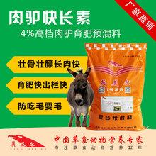 肉驴吃什么饲料促进肉驴生长添加剂