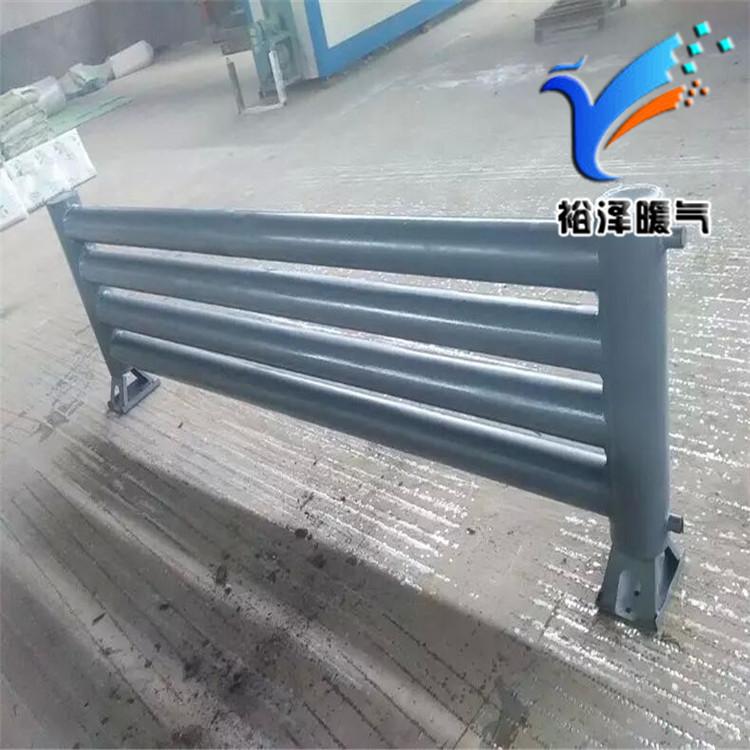 钢制光排管散热器暖气片厂家加工定做图片报价
