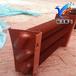 钢制暖气片翅片管暖气片散热器家用集体供暖大水道散热器