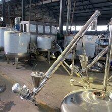 中江县管式螺旋输送机不锈钢化工颗粒螺杆上料机喂料器价格