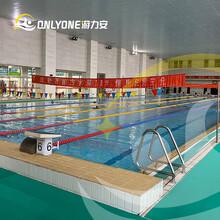 山西拼接室内恒温游泳池-钢结构组装式泳池价格图片