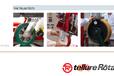 首选欧洲TellureRota辅助轮AGV定向轮不锈钢万向脚轮