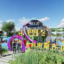 红孩儿游乐室外儿童游乐设备厂家定制无动力游乐设施小区儿童乐园整体规划设计