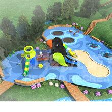 户外大型游乐场所无动力游乐设施生产厂家定制游乐场设备