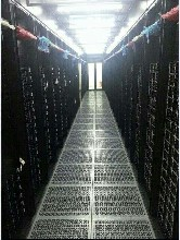 图腾冷通道KL6042网络服务器机柜挂墙柜KVM、PDU