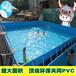 定制PVC水池充气水池支架水池游泳池