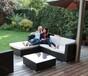 藤条沙发户外休闲沙发茶几组合庭院家具价格