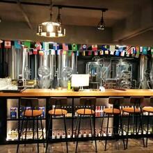 100-500升兩鍋三器小型德國精釀啤酒設備生產廠家圖片