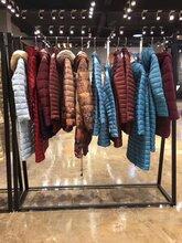 17冬季羽绒服品牌折扣女装宝莱国际尾货批发