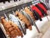 17冬季新款时尚专柜品牌女装棉衣尾货货源批发