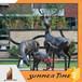 金属不锈钢铜耐候钢玻璃钢鹿雕塑飞迅雕塑专业制造