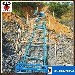 护坡工程机械轨道输送机爬墙吊料机电动爬山虎上料机
