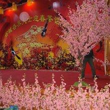 太原供应厂家直销仿真大型桃花树假树酒店会场布置花艺设计大树