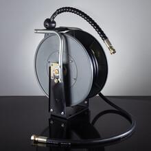 洗车工具水气双管鼓自动伸缩ABS工程塑料图片