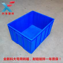 厂家直销全新料塑料箱耐砸耐摔一年质保周转箱胶箱图片