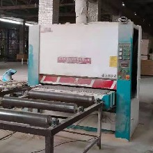 二手砂光機廠家提供1.3米雙砂架砂光機價格圖片