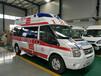 金华浦江私人救护车病人长途护送