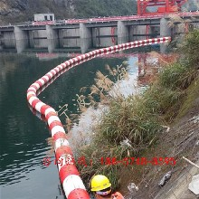 内湖水上浮筒式拦截浮体河道拦污栅规格介绍