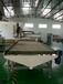 濟南港森供應新疆數控板式家具生產線雙工序加排鉆雕刻機開料機報價廠家直銷