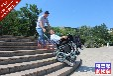 残疾人爬楼车自由行3电动履带爬楼神器唯思康安华桥店