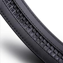 男士商务自动扣超纤皮腰带合金扣男式皮带批发厂家定制