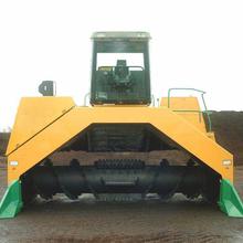 鹤壁禾盛有机肥YFFD-2000型翻堆机有机肥生产设备有机肥生产线有机肥翻堆机