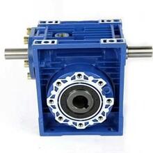 小机型减速机RV025单相输出轴双向输出轴11mm蜗轮蜗杆减速机图片