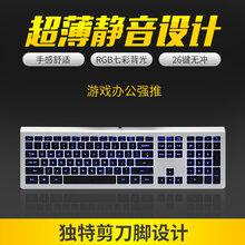 B.FRIENDit超薄静音电脑游戏键盘KB-460图片