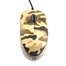 供應壁虎忍者游戲鼠標有線筆記本臺式電腦電競外接USB辦公鼠標迷彩色圖片