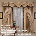 深圳窗帘布料布艺市场批发价格窗帘代理商