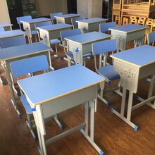 九九成新二手课桌椅,培训桌椅低价处理,幼儿园,培训班专用。图片