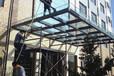 珠海观光电梯玻璃安装栏杆电梯玻璃更换别墅雨棚玻璃安装更换
